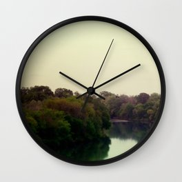 river Wall Clock