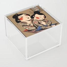 Japanese Tattoo  Acrylic Box