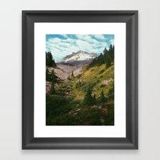 Mt Hood Framed Art Print