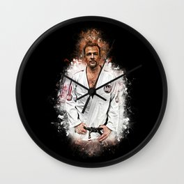 BJJ Flanery Wall Clock