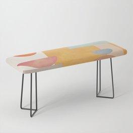 Modern Abstract Art 70 Bench