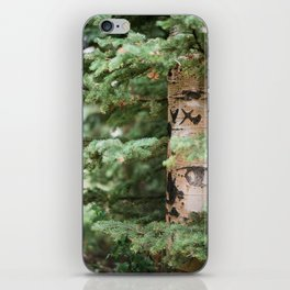 WRITTEN IN THE TREES iPhone Skin