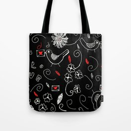 love story for valentine's day Tote Bag