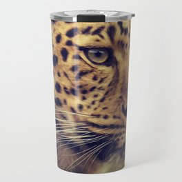 Leopard portrait Travel Mug