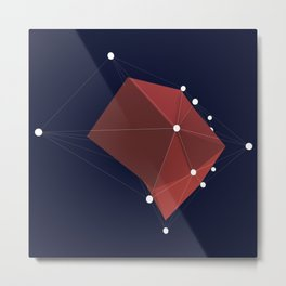 3d abstraction  Metal Print