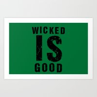 maze runner Art Prints featuring Maze Runner: Wicked is Good by Makar Deku