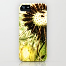 Dandelion 7 iPhone Case