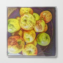 Fourteen Apples a Day Metal Print