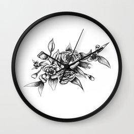 Flower Arrangement 01 Wall Clock