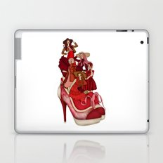 Ladies In Red Laptop & iPad Skin