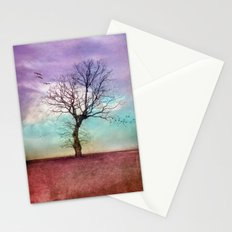 ATMOSPHERIC TREE | Early Morning Stationery Cards