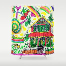 ChelleRay in Key West Shower Curtain
