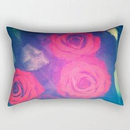 Rose Red Rectangular Pillow