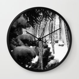 Icicle Wall Clock