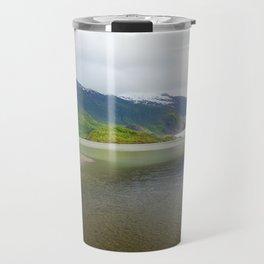 Mendenhall Glacier Juneau Alaska Travel Mug