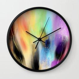 Rainbow Baby Wall Clock