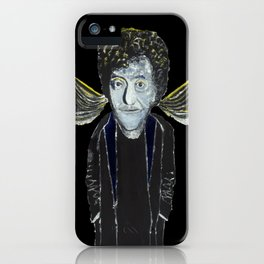 Kurt Vonnegut Jr Oil Painting by Tony King  iPhone Case
