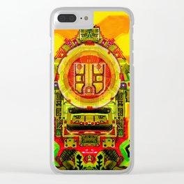 Ahau Sundancer Clear iPhone Case