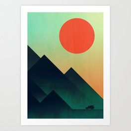 World to see Art Print