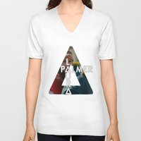 laura palmer V-neck T-shirts featuring Bastille - Laura Palmer by Thafrayer