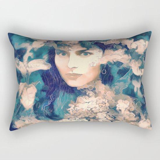 The blossom Rectangular Pillow