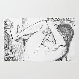 Sorrow (After Vincent Van Gogh)  Rug