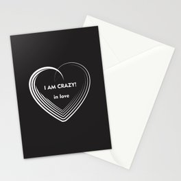 I am Crazy! Stationery Cards