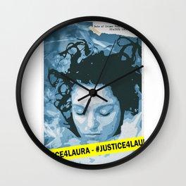 Justice for Laura (Twin Peaks Fanart) Wall Clock