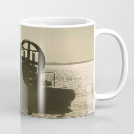 Hovercraft gold Coffee Mug
