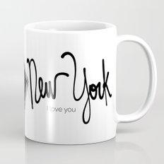 New york I love you  Mug