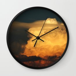 Building Layers Wall Clock
