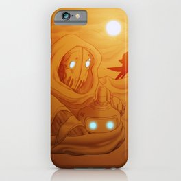 Primordia Horatio and Crispin walk in the sand iPhone Case