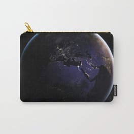 The Earth at Night 1 Carry-All Pouch