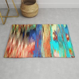 Color Texture Rug