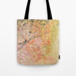 Microscopic Fragmentation Tote Bag