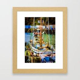 The Wayfarer Framed Art Print