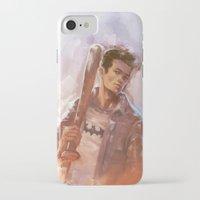 stiles stilinski iPhone & iPod Cases featuring [ STILES STILINSKI ] by AkiMao