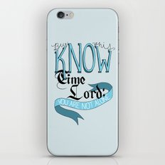You Are Not Alone iPhone & iPod Skin