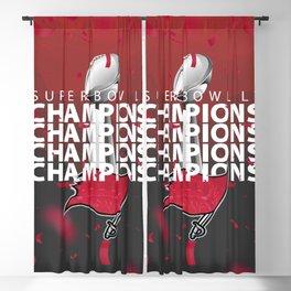 SB LV: Bucs Champions Blackout Curtain