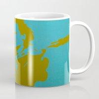 u2 Mugs featuring Bono - U2 by Tipsy Monkey