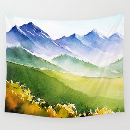 Autumn landscape #1 Wall Tapestry
