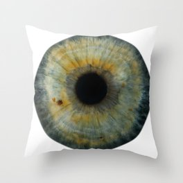 EYE Love to See You, Green Throw Pillow