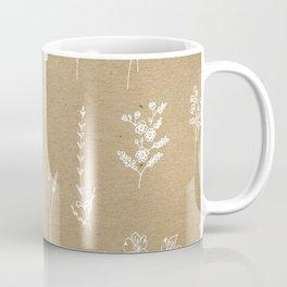 Wildflowers kraft Coffee Mug