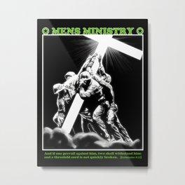 Mens Ministry  Metal Print