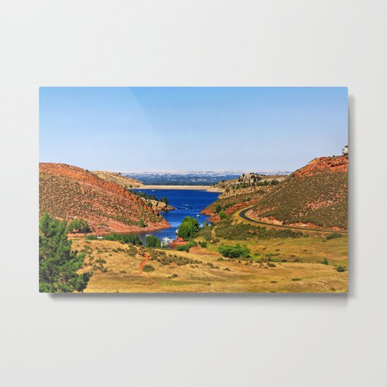 Fort Collins Metal Print