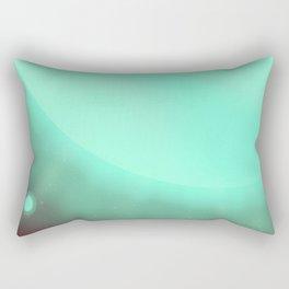 Alpha Centauri Space Art poster Rectangular Pillow