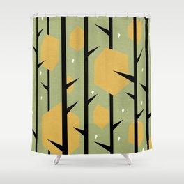 Yeti Dreams Shower Curtain