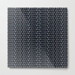 Perspective Dots Metal Print