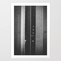 The space in-between Art Print