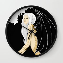dragons in the midst Wall Clock